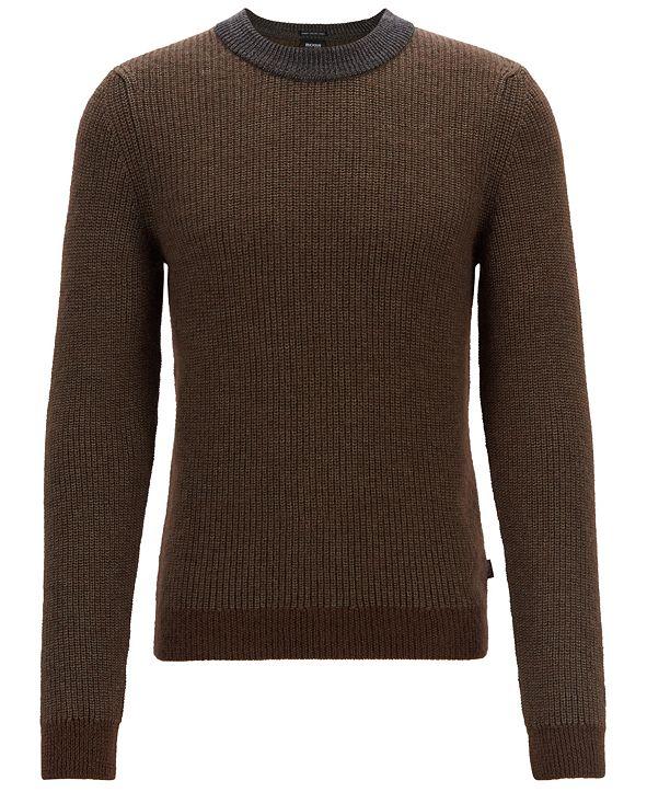 Hugo Boss BOSS Men's Textured Sweater