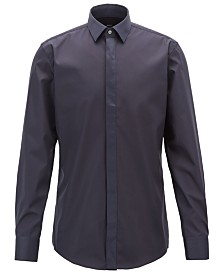 BOSS Men's Easy-Iron Cotton Shirt