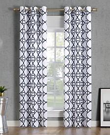 Barkley Trellis Print Curtain Collection