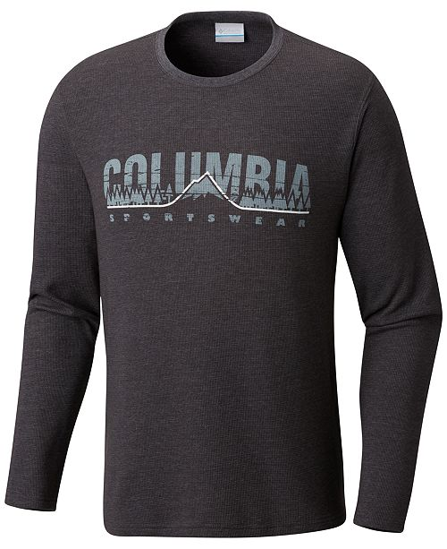 Columbia Men's Ketring Graphic Thermal T-Shirt