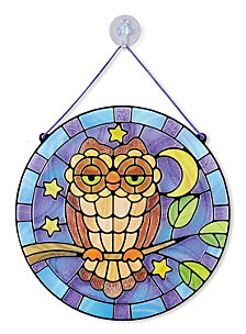 Stained Glass - Owl