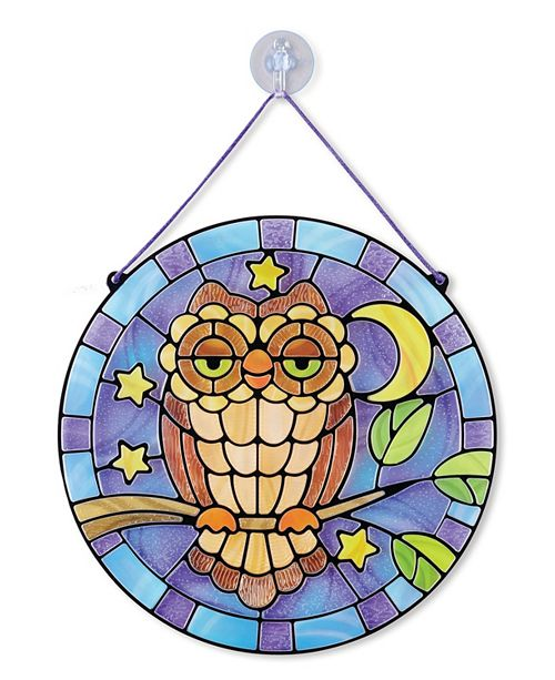 Melissa and Doug Stained Glass - Owl