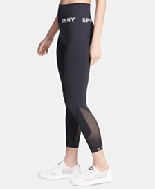 DKNY Sport High-Waist Seamless Ankle Leggings, Created for Macy's