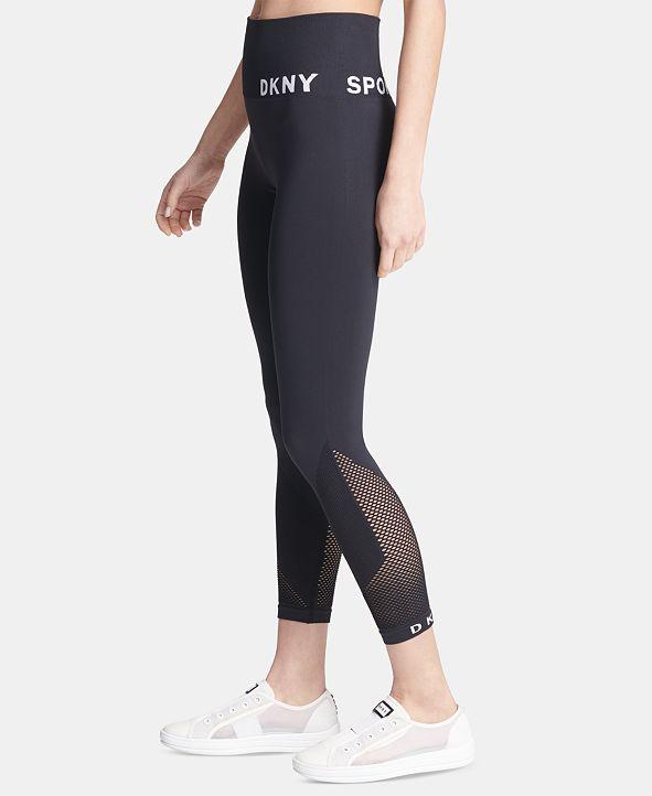 DKNY Sport High-Waist Seamless Ankle Leggings