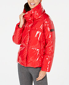 Calvin Klein Performance Shiny Puffer Jacket