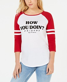 Love Tribe Juniors' Cotton How You Doin? Graphic-Print T-Shirt
