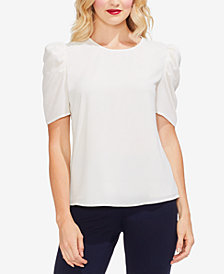 Vince Camuto Puff-Sleeve Top
