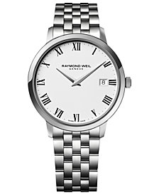 RAYMOND WEIL Men's Toccata Stainless Steel Bracelet Watch 42mm