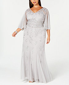 Gray Plus Size Dresses Macy S