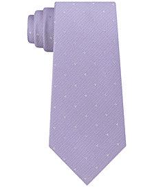 Calvin Klein Men's Reflective Slim Multi-Dot Tie
