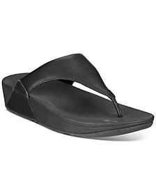 Women's Lulu Leather Toe-Thongs Sandal