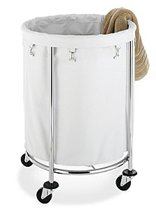 Round Commercial Laundry Hamper