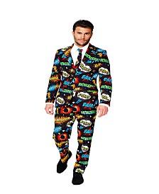 OppoSuits Men's Badaboom Comics Suit