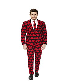 OppoSuits Men's King of Hearts Valentine Suit