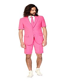 OppoSuits Men's Summer Mr. Pink Solid Suit