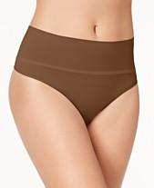 7aa7f50f9fb4 SPANX Women's Everyday Shaping Panties Thong SS0815