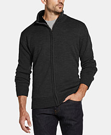 Weatherproof Vintage Men's Mock-Neck Full-Zip Sweater Jacket