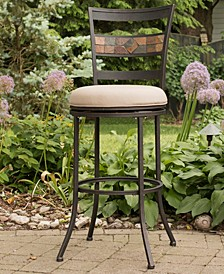 Indoor / Outdoor Henning Swivel Bar Stool