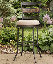 Indoor / Outdoor Henning Swivel Bar Stool