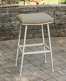 Indoor / Outdoor Flynn Non-Swivel Backless Counter Stool