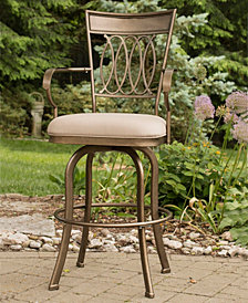 Indoor / Outdoor Delk Swivel Counter Stool