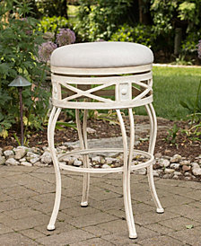 Indoor / Outdoor Callen Swivel Bar Stool