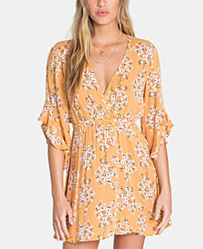 Billabong Juniors' Love Light Flounce-Sleeve Dress