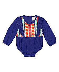 Masala Baby Baby Girl's Organic Cotton Maddy Bodysuit