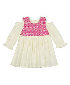 Masala Baby Organic Cotton Baby Girl's Layla Dress Pointe