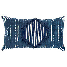 "Donny Osmond 14"" x 26"" Geometric Design Down Filled Pillow"