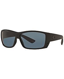 Costa Del Mar Polarized Sunglasses, CAT CAY POLARIZED 60P
