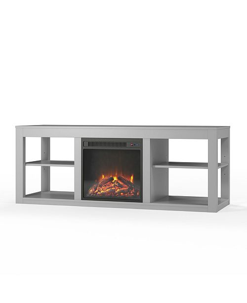 finest selection 9984a c885e Ameriwood Home Overmax- Ira Electric Fireplace TV Stand ...