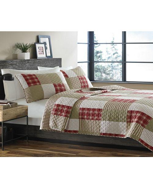Eddie Bauer Camano Island Red Quilt Sets