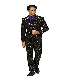Men's Fancy Fireworks Christmas Suit