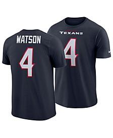 Men's DeShaun Watson Houston Texans Player Pride Name and Number T-Shirt