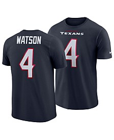Nike Men's DeShaun Watson Houston Texans Player Pride Name and Number T-Shirt