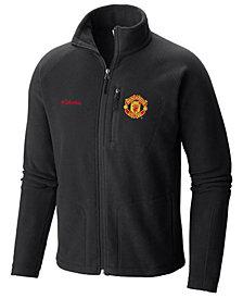 Columbia Men's Manchester United Club Team Fast Trek II Fleece Full-Zip Jacket