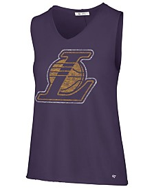 '47 Brand Women's Los Angeles Lakers Letter Tank