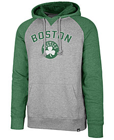 '47 Brand Boston Celtics Men's Match Raglan Hoodie