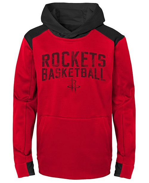 Outerstuff Houston Rockets Off The Court Hoodie, Big Boys (8-20)