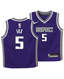Nike DeAaron Fox Sacramento Kings Icon Replica Jersey, Toddler Boys (2T-4T)