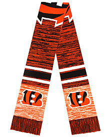Forever Collectibles Cincinnati Bengals Knit Color Blend Big Logo Scarf
