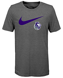 Nike Sacramento Kings Swoosh Team T-Shirt 2018, Big Boys (8-20)