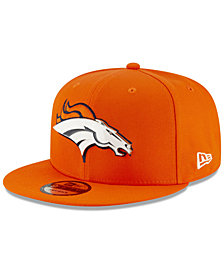 New Era Denver Broncos Metal Thread 9FIFTY Snapback Cap