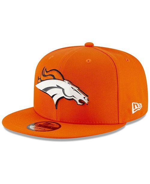 New Era Denver Broncos Metal Thread 9FIFTY Snapback Cap - Sports Fan ... f505a060f