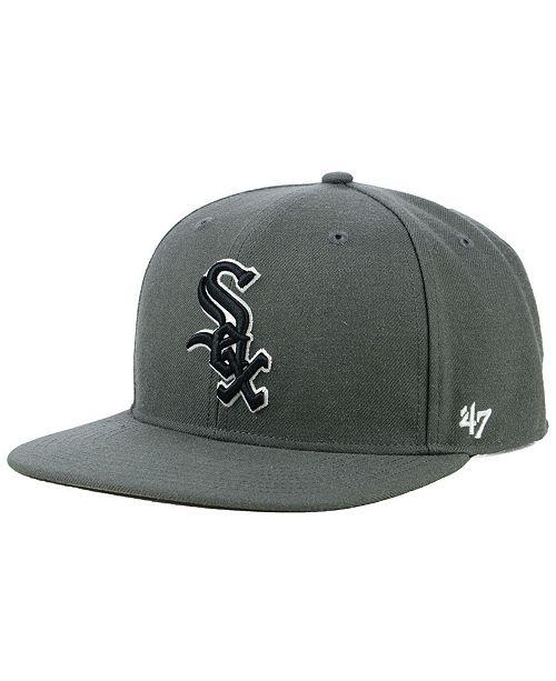 huge discount e4ff5 40902 ...  47 Brand Chicago White Sox Autumn Snapback Cap    ...