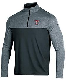 Men's Texas Tech Red Raiders Scratch Mock Quarter-Zip Pullover