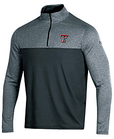 Under Armour Men's Texas Tech Red Raiders Scratch Mock Quarter-Zip Pullover