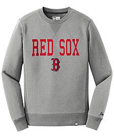 New Era Men's Boston Red Sox Premium Crew Sweatshirt