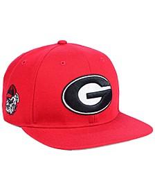 Georgia Bulldogs Sure Shot CAPTAIN Snapback Cap